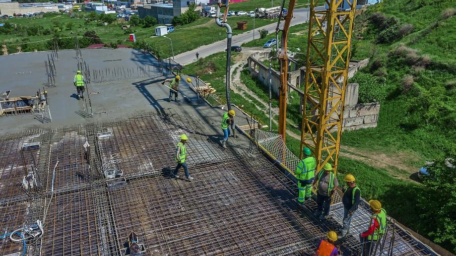 Статус о строительных работах по проекту Ализи Мухиани